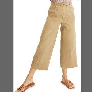 MADEWELL Utility Crop Wide-Leg Pants 24